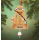 Personalized Fisher Ornament, One Size