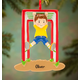 Personalized Monkey Bars Ornament, One Size