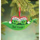 Personalized Peas In A Pod Ornament, One Size