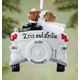 Personalized Just Married Car Ornament, One Size
