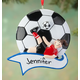 Personalized Soccer Ornament, One Size