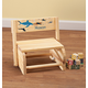 Personalized Children's Sharks Chair/Step Stool, One Size