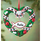 Personalized Pet Wreath Ornament, One Size