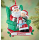 Personalized Santa And Child Ornament, One Size