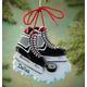 Personalized Hockey Skates Ornament, One Size