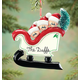 Personalized Sleigh Family Ornament, One Size