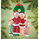 Personalized Christmas Eve Family Ornament, One Size