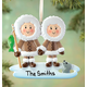 Personalized Eskimo Family Ornament, One Size