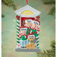 Personalized Family And Dog Ornament, One Size
