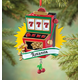 Personalized Slot Machine Ornament, One Size
