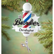 Personalized Barber Ornament, One Size