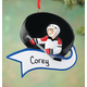 Personalized Hockey Ornament, One Size