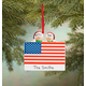 Personalized Patriotic Family Ornament, One Size