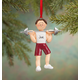 Personalized Weight Lifter Ornament, One Size