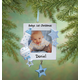 Personalized Baby's First Christmas Frame Ornament, One Size