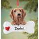 Personalized Golden Retriever Ornament Personalized, One Size
