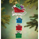 Personalized Sleigh And Gifts Dangle Ornament, One Size