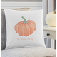 Personalized Harvest Pumpkin Throw Pillow, One Size