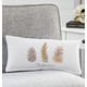 Personalized Pinecone Lumbar Pillow, One Size