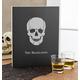 Personalized Skull Chalkboard, One Size