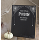 Personalized Pick Your Poison Chalkboard, One Size