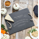 Personalized Spirit Board Slate Serving Tray, One Size