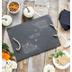 Personalized Spider Web Slate Serving Tray, One Size