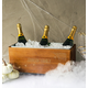 Personalized Halloween Wooden Wine Trough, One Size
