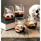 Personalized Skull + Crossbones Stemless Wine Glasses 21 Oz., One Size