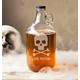 Personalized Skull + Crossbones Craft Beer Growler, 64 Oz., One Size