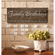 Personalized Dates To Remember Wall Hanging, One Size