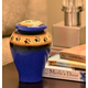 Personalized Blue Ceramic Paw Print Pet Urn, One Size
