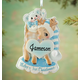 Personalized Baby's First Christmas Deer Ornament, One Size