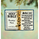 Personalized Holy Bible Ornament, One Size