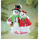 Personalized Snowcouple Ornament, One Size
