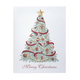 Christmas Trimmings Christmas Card Set Of 18, One Size