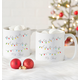 Personalized Fa La La Large Coffee Mugs Set Of 2, 20 Oz., One Size