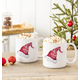 Personalized Oh What Fun Santa Hat Large Coffee Mugs 20 Oz., One Size