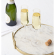 Personalized Champagne Estate Glasses Set Of 2, 9.5 Oz., One Size