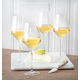 Personalized White Wine Estate Glasses Set Of 4, 14 Oz., One Size