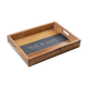Personalized Acacia And Slate Tray, One Size