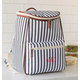 Personalized Striped Backpack Cooler, One Size