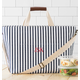 Personalized Striped Large Cooler Tote, One Size