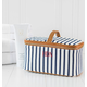 Personalized Striped Cosmetic Case, One Size