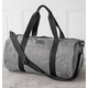 Personalized Grey Duffle Bag, One Size