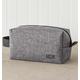 Personalized Grey Dopp Kit, One Size