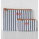 Personalized Striped Clutch Set, One Size