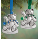 Personalized Pewter Birthstone Bear Ornaments, One Size