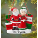 Personalized Mr. And Mrs. Claus With Presents Ornament, One Size