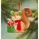Personalized Woodland Squirrel Ornament, One Size